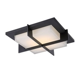 """Modern Forms FM-4716 Razor 1 Light 16"""" Wide LED Flush Mount Ceiling Fixture - 15.75 Inches Wide"""