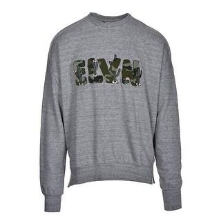 Eleven Paris Crewneck Sweatshirt X-Large XL Grunder Gray Carpet Patch Nacher