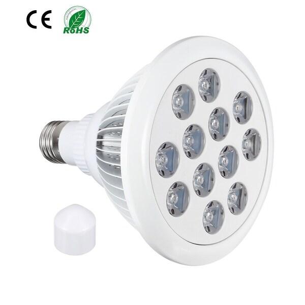 LED Grow Light Bulb 12W E27 9 Red + 3 Blue LEDs AC 85-265V for Indoor Plants