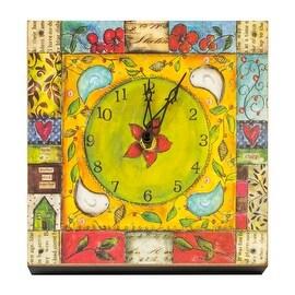 DEMDACO Joyful Nest Chirp Clock