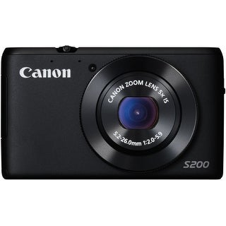 Canon PowerShot S200 10.1MP Wi-Fi Digital Camera 8408B005 (Black)