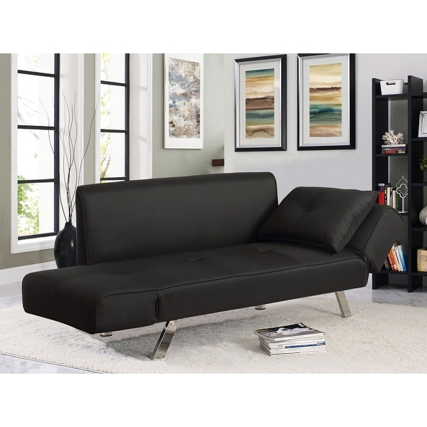 Serta® Michigan Convertible Sofa with Adjustable Winged Arms. Opens flyout.