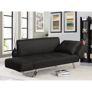 Serta® Michigan Convertible Sofa with Adjustable Winged Arms
