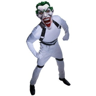 Rubies DC Rogues Gallery The Joker Adult Costume - White - Standard