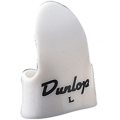 Dunlop Large Finger Picks White 12 Pack