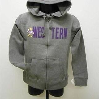Western Illinois Leathernecks Womens Medium M Hoodie Jacket J America 63Uy