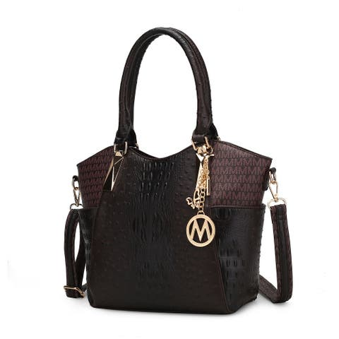 MKF Collection Letty M Signature Tote Bag by Mia K.