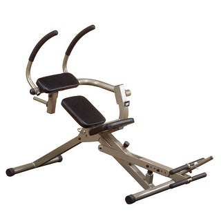 Best Fitness Semi Recumbent Ab Bench - Black