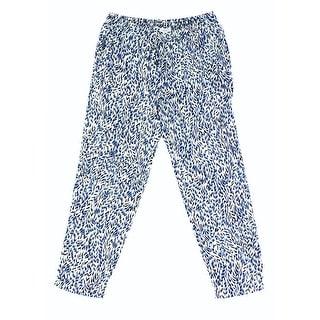 Splendid NEW Blue Size Medium M Junior Pull-On Drawstring Pants