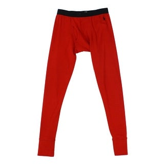 Polo Ralph Lauren Red Men Size Medium M Pull On Stretch Lounge Pants
