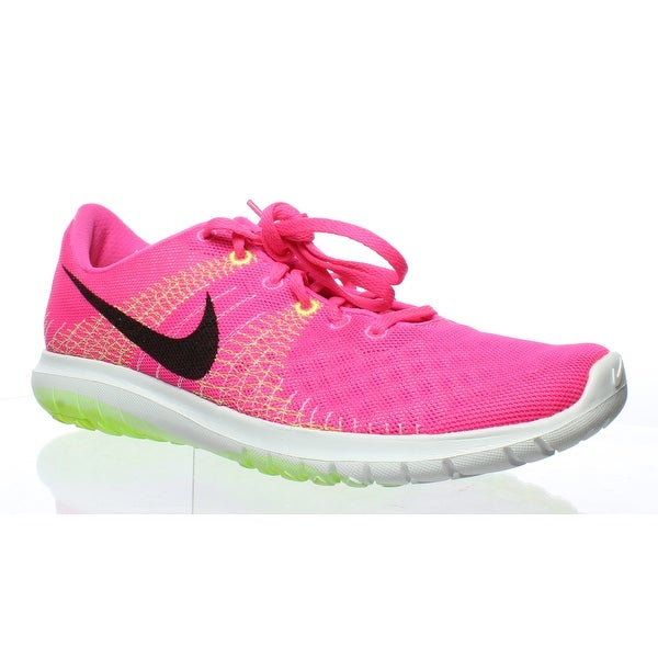 457d36233ebc Shop Nike Womens Flex Fury Pink Running Shoes Size 11.5 - On Sale ...