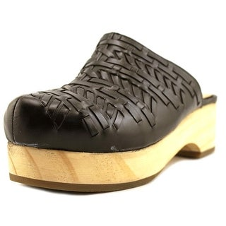 MTNG Raquel Round Toe Leather Mules