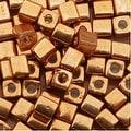 Miyuki 4mm Cube Beads - Metallic Gold 1053 (10 Grams) - Thumbnail 0