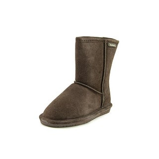Bearpaw Emma Youth Round Toe Suede Snow Boot