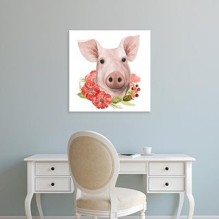 Easy Art Prints Grace Popp's 'Poppy Farm IV' Premium Canvas Art
