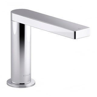 Kohler K-103C37-SANA  Composed 0.5 GPM Single Hole Touchless Bathroom Faucet with Grid Drain, Kinesis Sensor and Mixer,