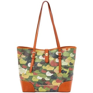 Dooney & Bourke Camouflage Duck Dover (Introduced by Dooney & Bourke at $348 in Dec 2014) - Green