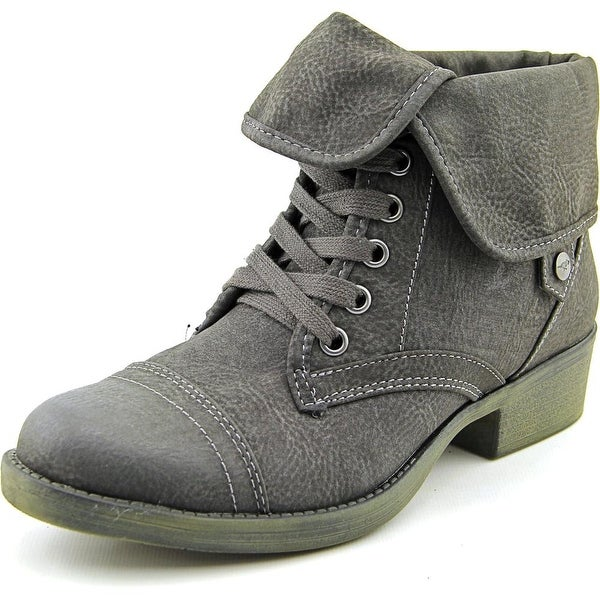Rocket Dog Taylor Brave Women Round Toe Synthetic Gray Ankle Boot