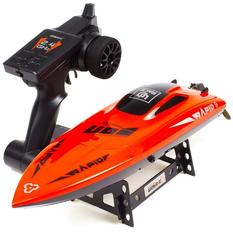 UDIRC RC Boat UDI009 2.4Ghz Remote Control High Speed Electronic Racing Boat Red