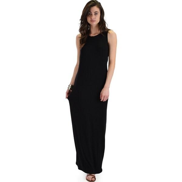Shop Ascension Contemporary Hooded Maxi Dress Black Medium Free