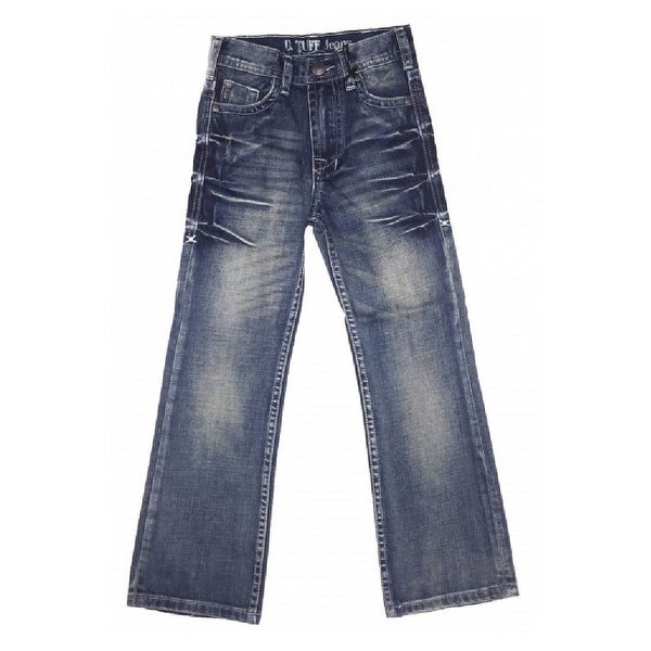 Shop B Tuff Western Denim Jeans Boys Kids Casey Bootcut