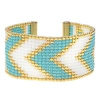 Riviera Loom Bracelet - Exclusive Beadaholique Jewelry Kit