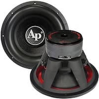"Audiopipe 15"" Woofer 2800 Watts Dual 4 Ohm Vc"