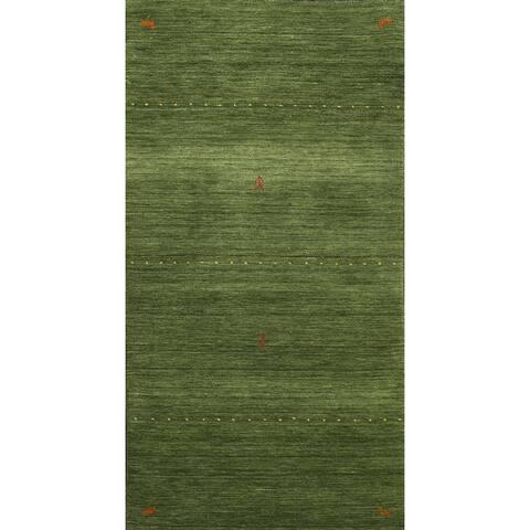 "Tribal Contemporary Gabbeh Oriental Kitchen Area Rug Wool Handmade - 2'7"" x 5'0"""