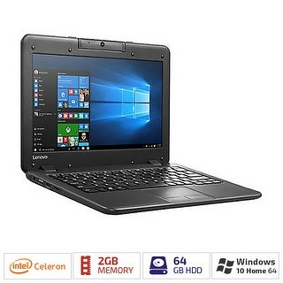 "Lenovo N22 80S60006US 11.6"" (Twisted nematic (TN)) Notebook - Intel Celeron N3050 Dual-core (2 Core) 1.60 GHz - Business"