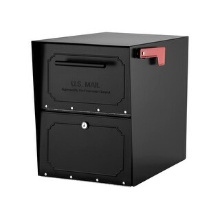 Architectural Mailboxes 6200-10 Oasis Classic Post Mount Locking Mailbox with Re - N/A