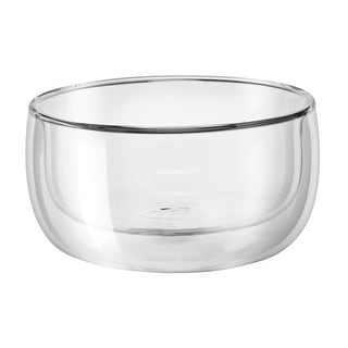 ZWILLING Sorrento 2-pc Double-Wall Glass Bowl Set - Clear