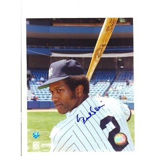 Autographed Paul Blair New York Yankees 8x10 Photo
