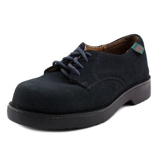School Issue Semester Round Toe Leather Oxford