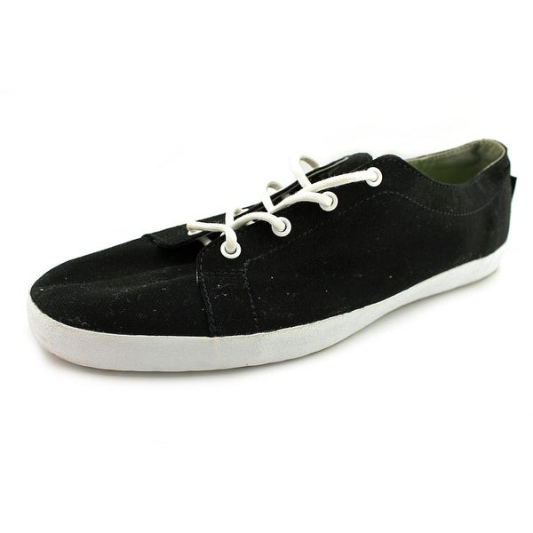 Reef Mr Stanley Men Round Toe Canvas Black Sneakers