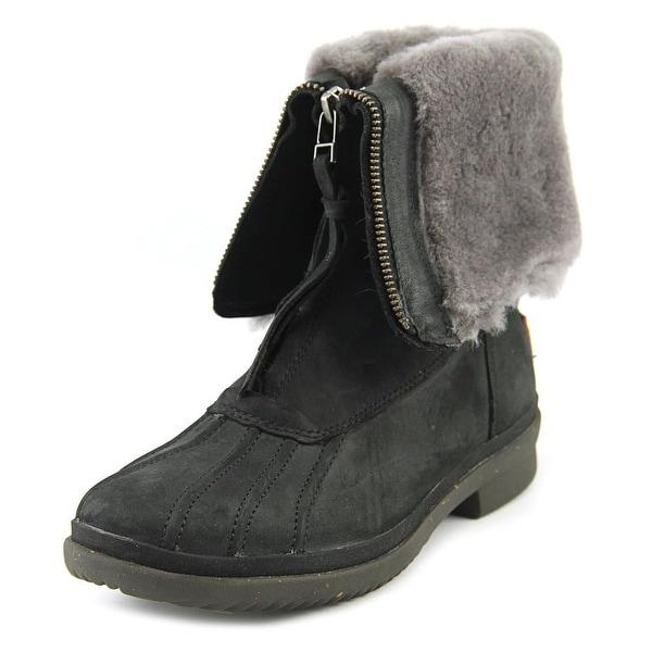 Ugg Australia Arquette Round Toe Leather Winter Boot