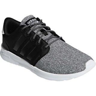 best service fbac9 ba7d0 adidas Women s Cloudfoam QT Racer Sneaker Core Black Core Black Core Black