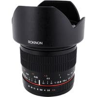 Rokinon 10mm f/2.8 ED AS NCS CS Lens for Canon EF Mount - Black