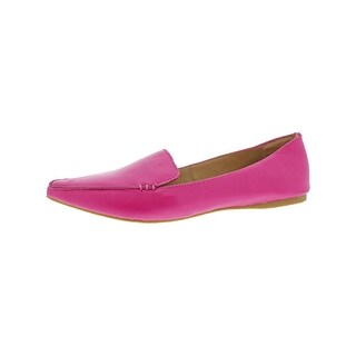Steve Madden Womens Feather Loafers Work Wear Flat