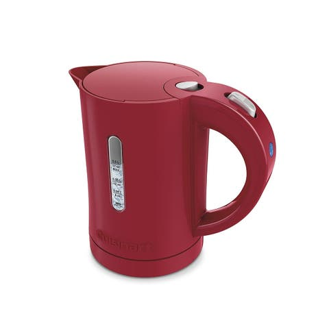 Cuisinart CK-5R 0.5 Liter/17oz Electric QuicKettle, Red