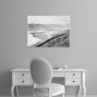 Easy Art Prints Ansel Adams's 'Death Valley National Monument' Premium Canvas Art
