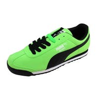 Puma Men's Roma SL NBK 2 Fluro Green/Black-White 355753 01