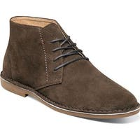 Nunn Bush Men's Galloway Chukka Boot Dark Brown Suede