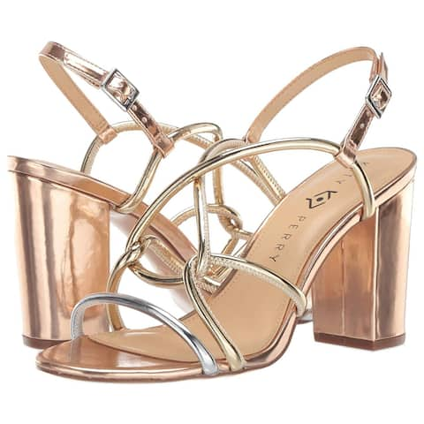 Katy Perry Women's The Kendra-Mirror Heeled Sandal