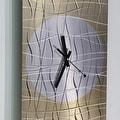 Statements2000 Copper 24-inch Metal Hanging Wall Clock - Nightfall Clock - Thumbnail 5