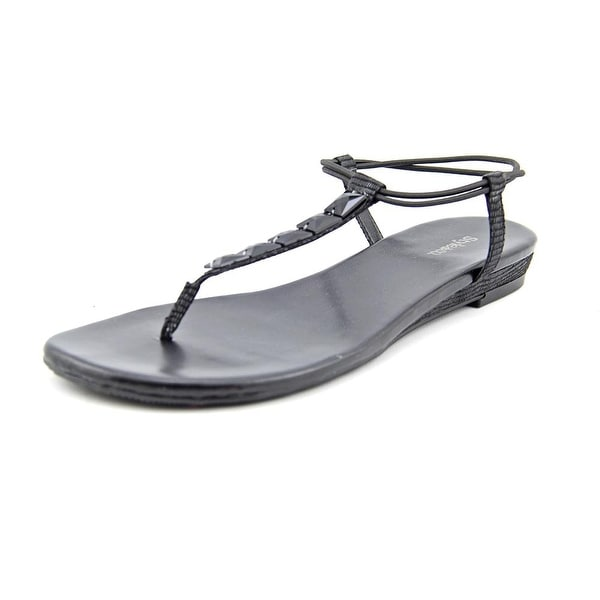Style & Co Eliahh   Open Toe Synthetic  Thong Sandal