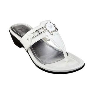 d74d52bf3 Buy T-Strap Women s Sandals Online at Overstock