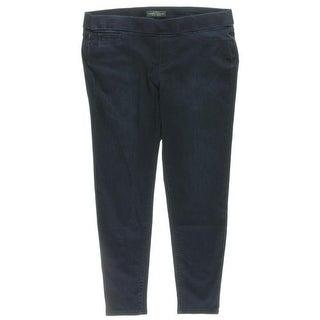 LRL Lauren Jeans Co. Womens Plus Jeggings Modern Legging