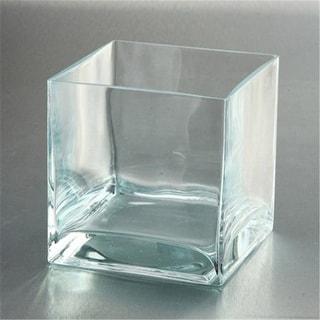 Diamond Star 89705 6 x 6 x 6 in. Square Glass Clear