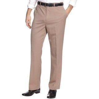 Louis Raphael Mens Dress Pants Wool Blend Adjustable Waistband