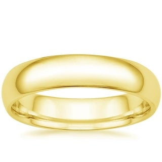 Mcs Jewelry Inc 14 KARAT YELLOW GOLD COMFORT FIT WEDDING BAND (6MM)